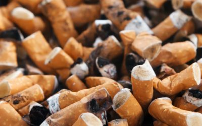 CIGARETTE BUTTS: ALTHOUGH SMALL, THEY CAUSE BIG PROBLEMS FOR THE OCEAN